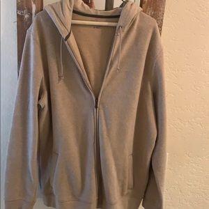 Nice warm zip up sweatshirt...perfect condition!
